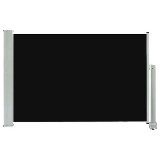 shumee Wysuwana markiza boczna na taras, 60 x 300 cm, czarna