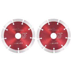 shumee Diamantni rezalni diski 2 kosa iz jekla 125 mm