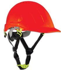 Lahti zaščitna čelada z zračniki Cat II, rdeča (L1040506)