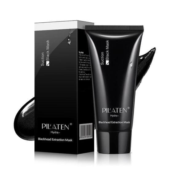 Pilaten Black Head Černá slupovací maska 60g