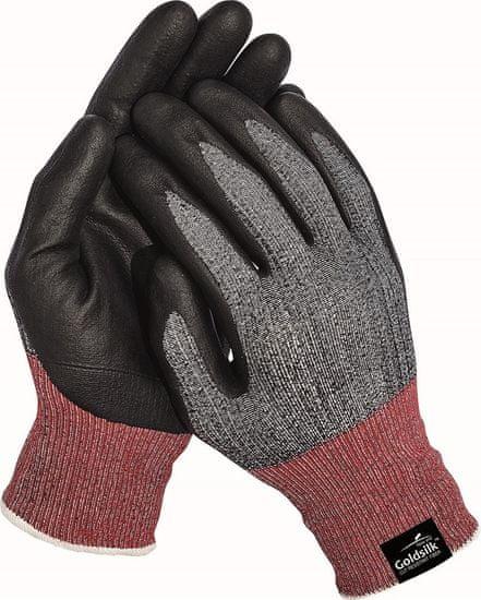 Free Hand Protiporézne máčené ninitrilové pracovní rukavice Parva