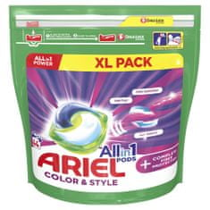 Ariel Complete Shape 3-In-1 gel kapsule za pranje, 44 kosov