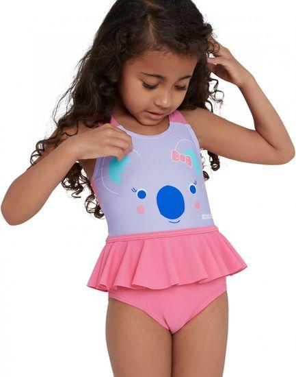Speedo Frill Swimsuit IF dekliške enodelne kopalke