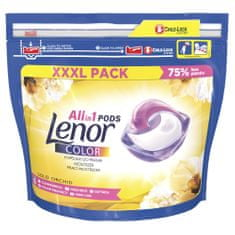 Lenor Gold Orchid Color All-in-1 Kapsle na praní 63 ks