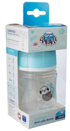 Canpol babies Láhev se širokým hrdlem Exotic Animals, 120 ml