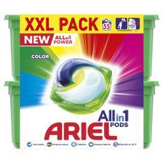 Ariel Color All-in-1 mosókapszula, 55 db