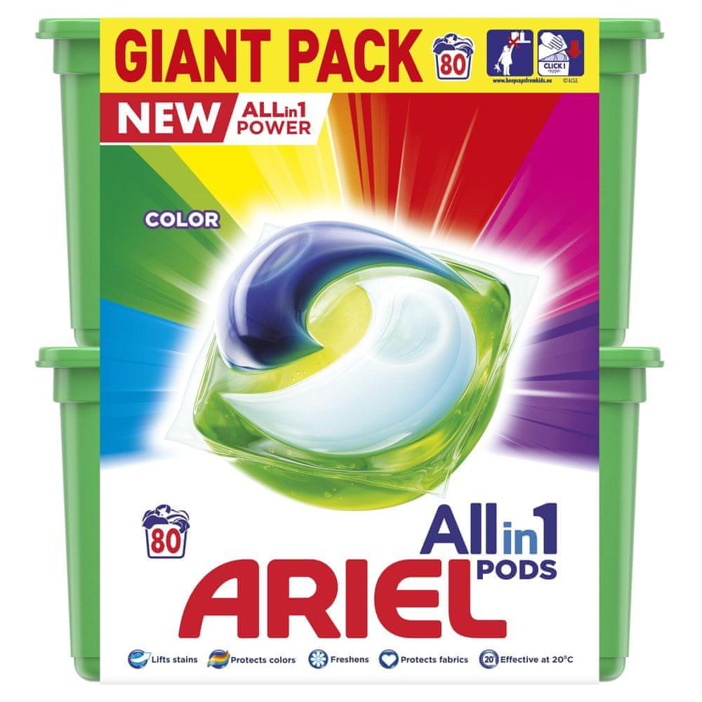 Ariel All-in-1 Color Kapsle na praní 80 ks