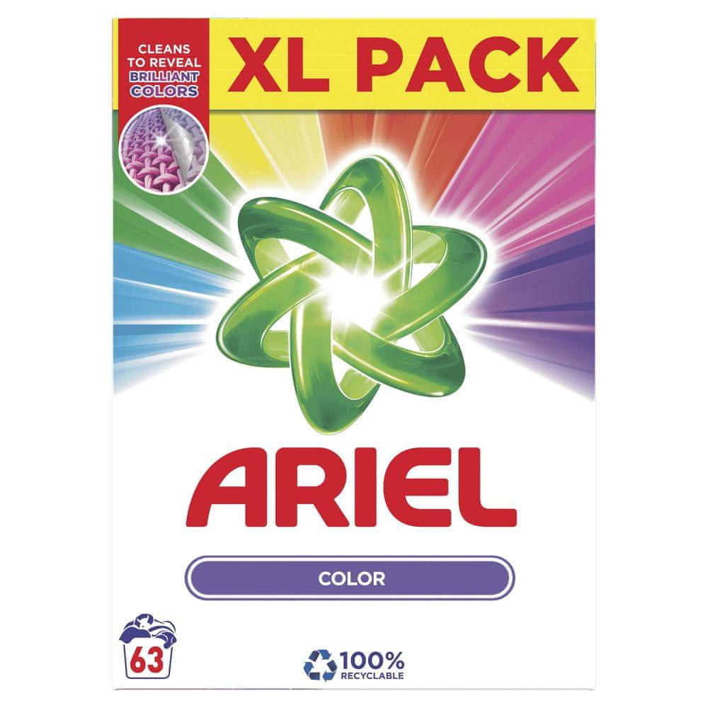Ariel Color & Style Prací prášek 63 Pracích dávek