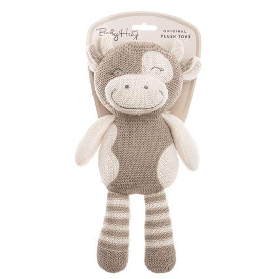 Baby Hug kravica, pletena, pliš, dolge noge, 31 cm