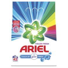 Ariel pralni prašek Color Fresh - Touch of Lenor, 45 pranj - Odprta embalaža