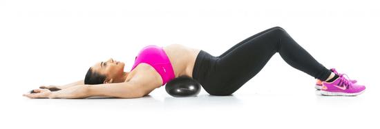 Gymstick pilates žoga, 22 cm, črna