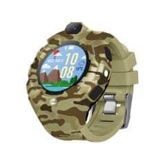 Forever KW-400 dječji sat, WiFi, GPS, kamera, zelena