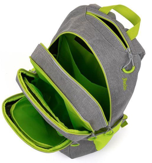 Karton P+P školski ruksak OXY Campus grey