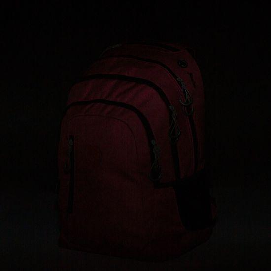 Karton P+P nahrbtnik OXY Campus red, rdeč - Odprta embalaža