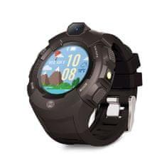 Forever KW-400 dječji sat, WiFi, GPS, kamera, crni