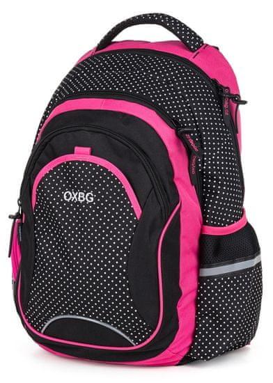 Karton P+P plecak szkolny OXY Fashion Dots biały