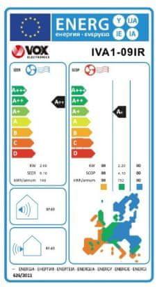 VOX electronics IVA1-09IR klimatska naprava