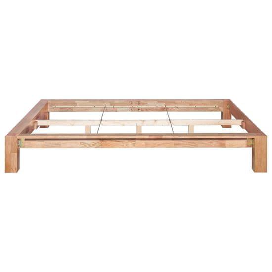 shumee tömör tölgyfa ágykeret 140 x 200 cm