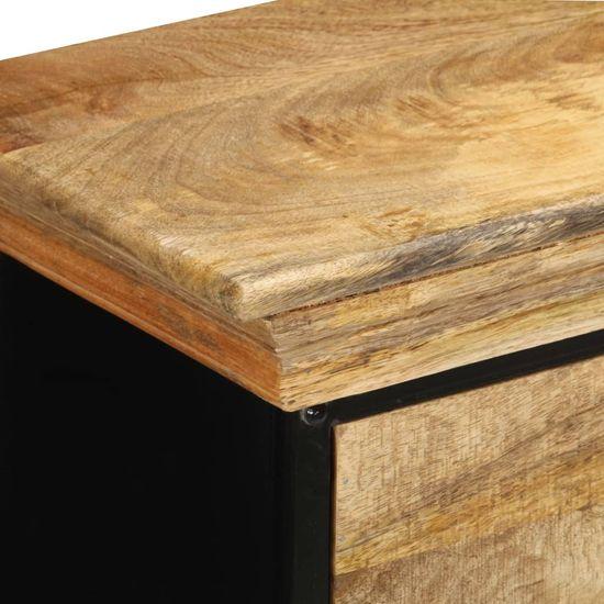 Petromila Skrinka so zásuvkami 60x30x75 cm masívne mangovníkové drevo