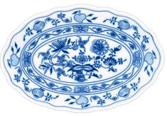 ČESKÝ PORCELÁN Mísa oválná 39 cm, dekor cibulák