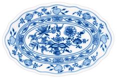 ČESKÝ PORCELÁN Mísa oválná 43 x 29,5 cm, dekor cibulák
