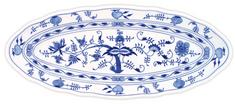 ČESKÝ PORCELÁN Mísa oválná na ryby 57 x 24 cm, dekor cibulák