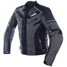 Cappa Racing Bunda moto pánska HATCH textilná šedá/čierna M