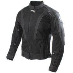 Cappa Racing Bunda moto pánská SEPANG kůže/textil černá 4XL