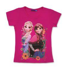 "SETINO Dekliška majica ""Frozen"" - temno roza - 92 / 1–2 leti"
