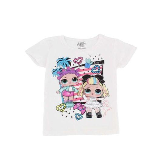 """SETINO Lány póló """"LOL"""" - fehér"""