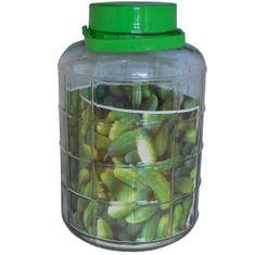 Marex Trade Sklenená fľaša na uhorky 10 l