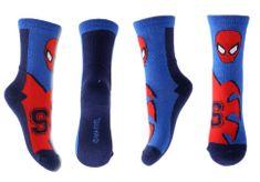 """SETINO Wysokie skarpety chłopięce """"Spiderman S"""" - czerwono / niebieski - 31–34"""
