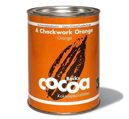 Becks Cocoa BIO rozpustná čokoláda s pomerančovou kůrou a zázvorem, 250g