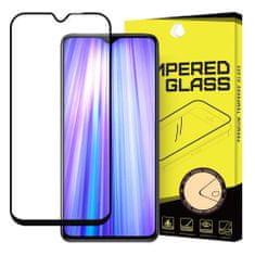 MG Full Glue zaščitno steklo za Xiaomi Redmi Note 8 Pro, črna