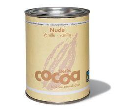 """Becks Cocoa BIO rozpustná čokoláda """"NUDE"""" s hořkou čokoládou a vanilkou, 250g"""