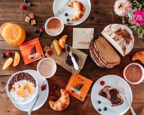 """Becks Cocoa MINI BIO rozpustná čokoláda """"CRIOLLO"""" s nejlepším 100% kakaem v sáčku 20g"""