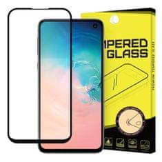 MG Full Glue zaščitno steklo za Samsung Galaxy S10e, črna