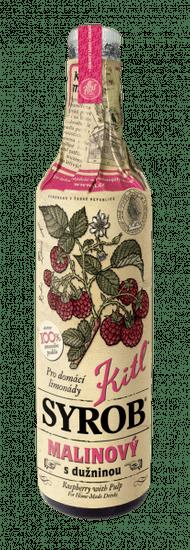Kitl Syrob Malinový s dužninou 500 ml sirup