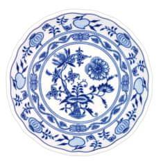 ČESKÝ PORCELÁN Mísa kompotová Ø 20 cm, dekor cibulák