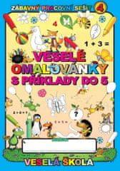 Jan Mihálik: Veselé omalovánky s příklady do 5