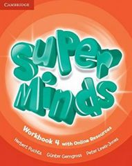 Herbert Puchta: Super Minds 4 Workbook with Online Resources
