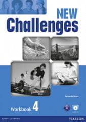 Amanda Maris: New Challenges 4 Workbook & Audio CD Pack