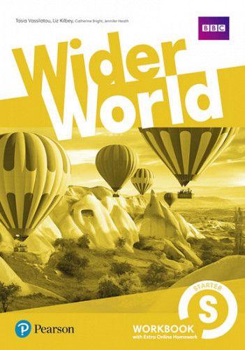 Wider World Starter Workbook w/ Extra Online Homework Pack