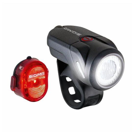 Sigma lampa rowerowa Aura 35 USB + Nugget II.