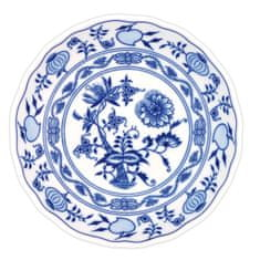 ČESKÝ PORCELÁN Mísa kompotová Ø 24 cm, dekor cibulák
