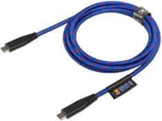 Xtorm Solid Blue Lifetime Warrenty USB-C PD cable (2 m) CS033