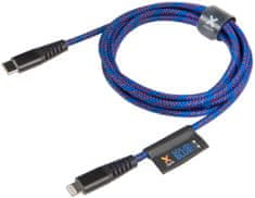 Xtorm Solid Blue Lifetime Warrenty USB-C - Lightning Cable (2 m) CS034