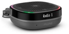 Pure StreamR Splash radio, črno-siv