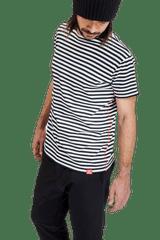 Revenium Modrobílé proužkované pánské tričko LIGHTHOUSE - L