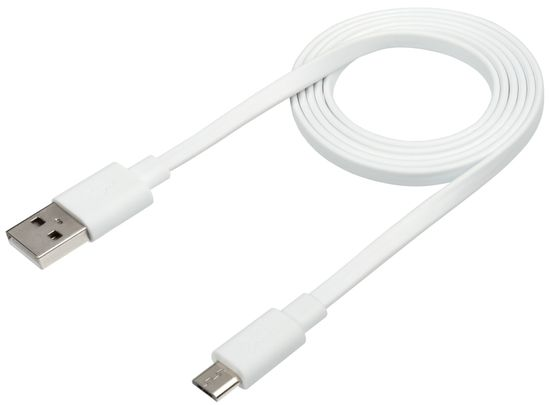 Xtorm Flat USB to Micro USB cable (1 m) CF010, bel